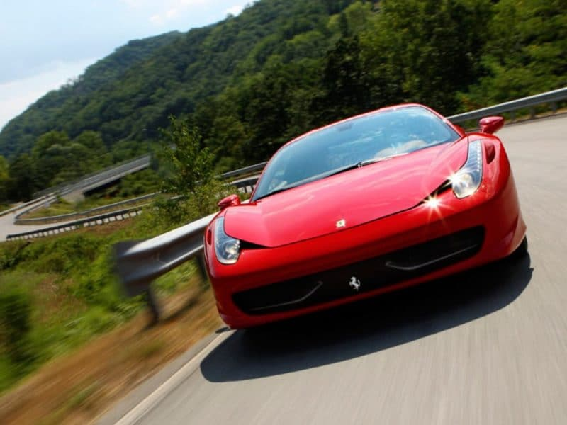 Location Ferrari 458